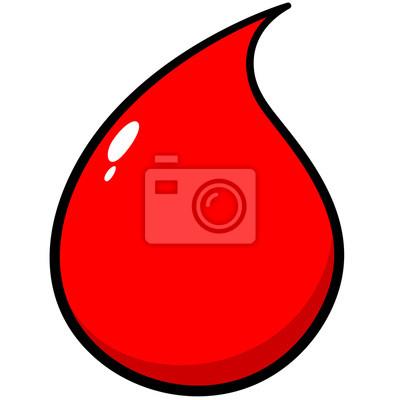 Blut-Tropfen