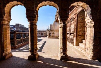 Fototapete Bögen des alten Gebäudes