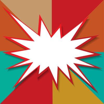 Fototapete Boom-Symbol Hintergrund Vektor-Illustration