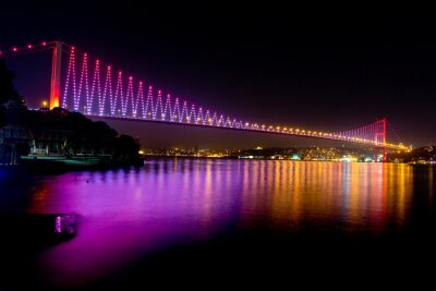 Fototapete Bosporus-Brücke
