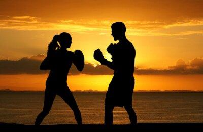 Fototapete Boxing