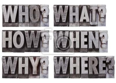 Brainstorming oder Entscheidung Fragen