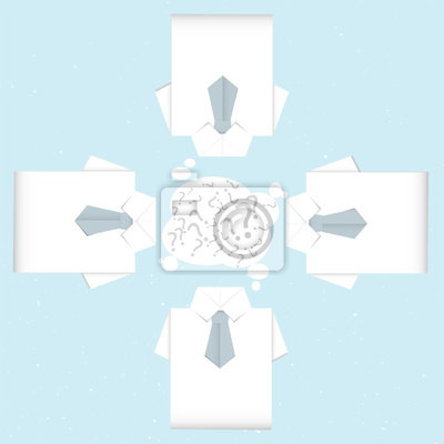 Brainstorming Shirt Origami