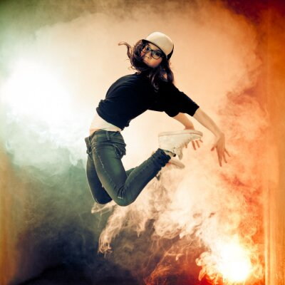 Fototapete Brakedancer