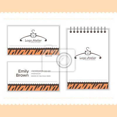 Branding Für Das Bekleidungsgeschäft Für Kinder Logo