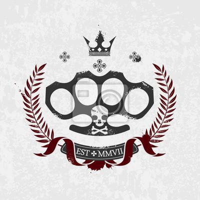Brass Knuckle-Emblem