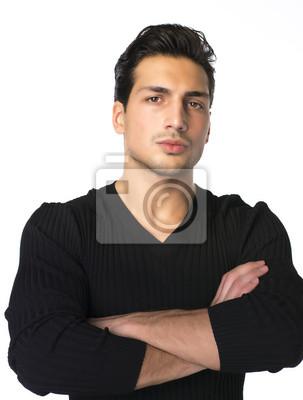 Braune männlich augen haare schwarze Welchem Charakter