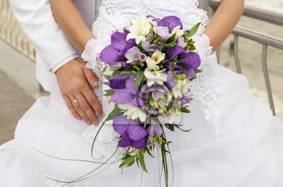 Braut Mit Hochzeitsstrauss Fototapete Fototapeten Einheit