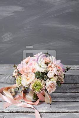 Brautstrauss Hochzeit Schoner Strauss Weisser Rosa Bluten Und