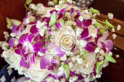 Brautstrauss Orchideen Fototapete Fototapeten Cymbidium