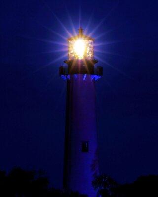 Fototapete Bright Light / Lighthouse located in Jupiter, Florida