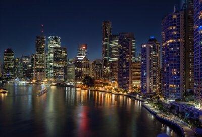 Fototapete Brisbane am Wasser
