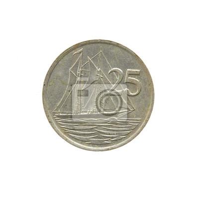 Britische Pfund Münze Aus Den Cayman Inseln Münzen Der Welt