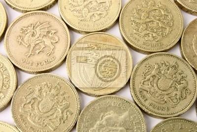 Britisches Pfund Münzen Fototapete Fototapeten Ftse Forex Konten