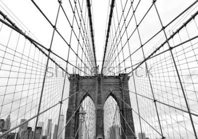 Fototapete Brooklyn Bridge in New York City, USA