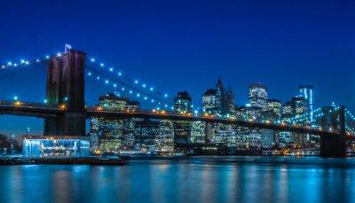 Fototapete Brooklyn Bridge NYC Skyline