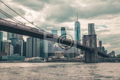 Brooklyn-Brücke Manhattan