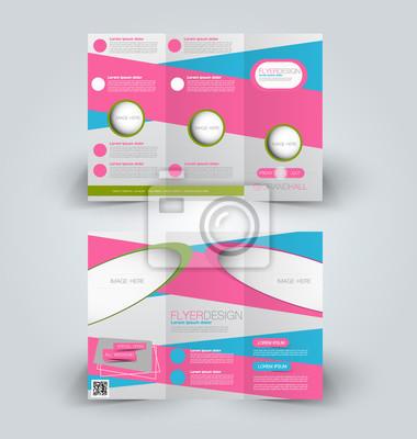 Broschüre mock up design-vorlage für wirtschaft, bildung, werbung ...