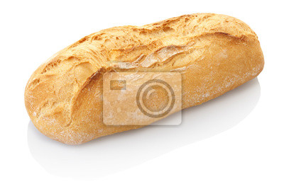 Brot isoliert