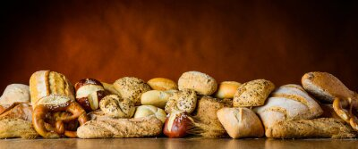 Fototapete Brot und Brötchen