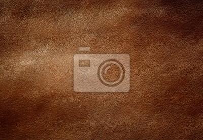 Brown glänzendem Leder Textur.