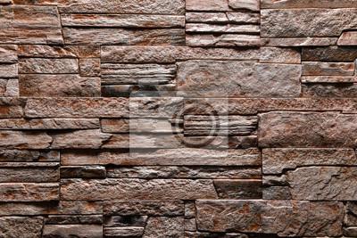 Einfach Steinwand Farbe ~ Brown steinwand textur hintergrund natürliche farbe fototapete