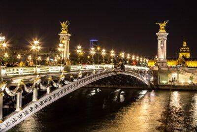 Fototapete Brücke des Alexandre III in Paris