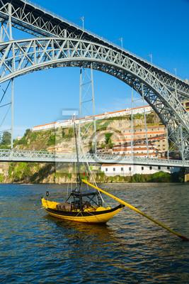 Fototapete Brücke Dom Luis, Portugal