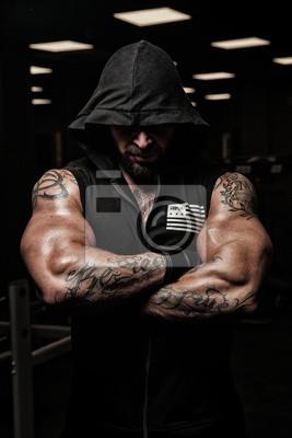 nackte muskel manner