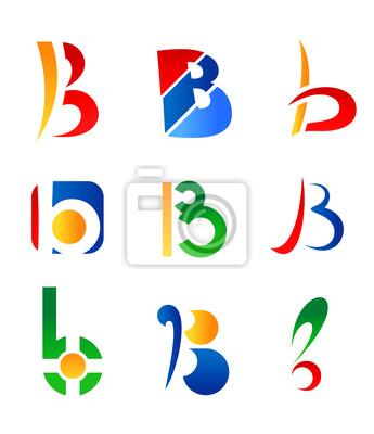 Buchstabe B Symbole