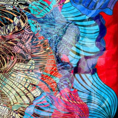 Fototapete Bunte abstrakte Hintergrund