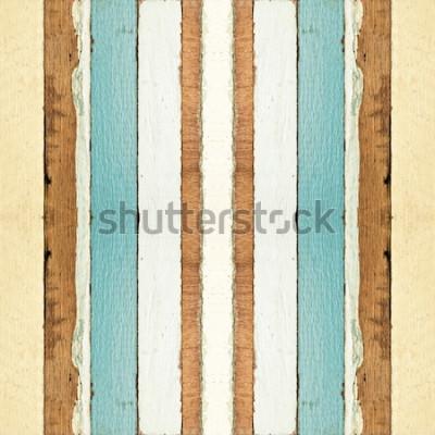 Fototapete Bunte nahtlose alte hölzerne Plankenbeschaffenheit, kann für Hintergrund verwendet werden