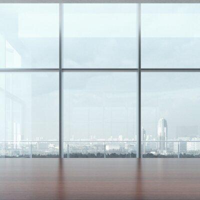 Fototapete Bürotisch und Fenster