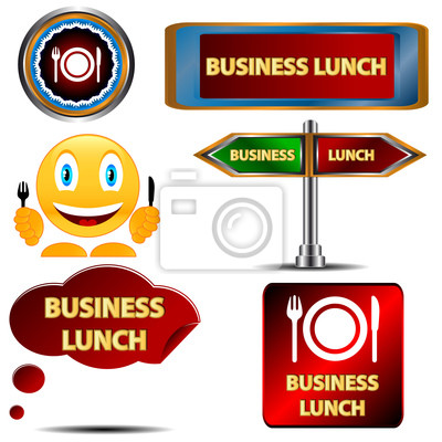 Business-Lunch-Set
