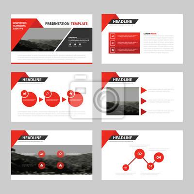 Business-präsentation vorlagen, infographic elemente vorlage ...