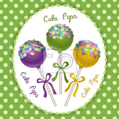 Cake Pops trio