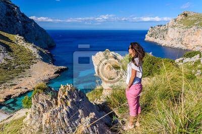 Fototapete: Cala figuera bei cap formentor schöne küste und strand von