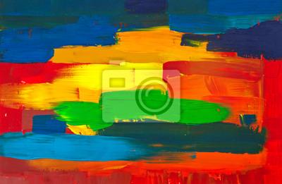 Canvas. Abstrakte Kunst Hintergrund Hand bemalt.