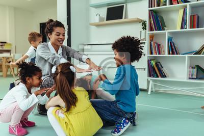 Fototapete Caring education