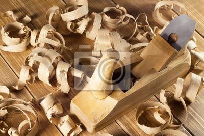 Carpenter-Flugzeug und Rasieren