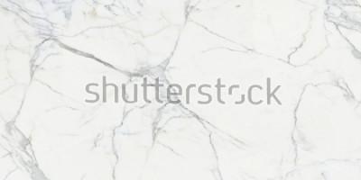 Fototapete Carrara marble. Marble texture. White stone background
