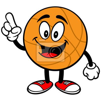 Cartoon Basketball Reden