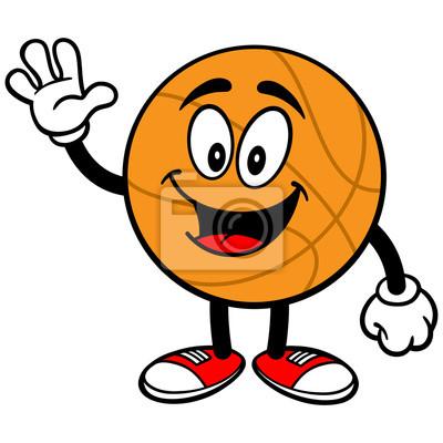 Cartoon Basketball Winken