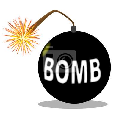 Cartoon-Bombe