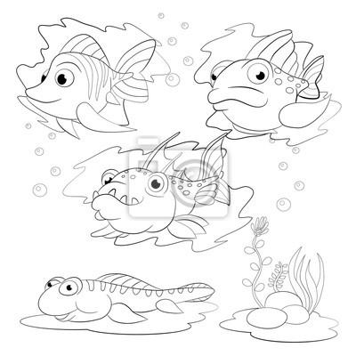 Großartig Fisch Malbücher Ideen - Ideen färben - blsbooks.com