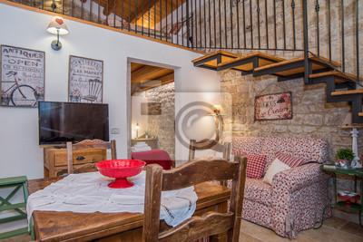 Casa con soppalco con kamera da letto, soggiorno e cucina ...