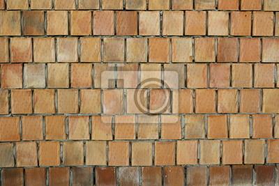 ceglast mur z porothermu