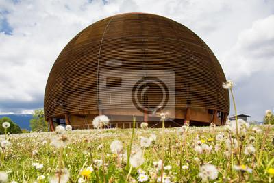 CERN-Gebäude in Genf, Schweiz
