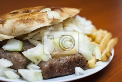 Cevap (Kebab) - balkan Mahlzeit