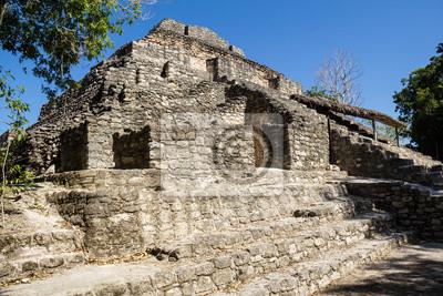 Chacchoben Maya-Ruinen F